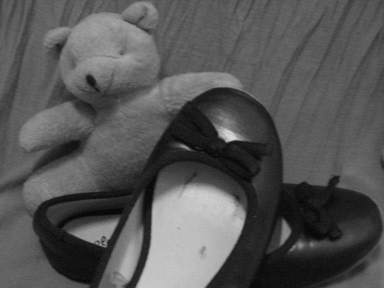 Shoes and Teddy