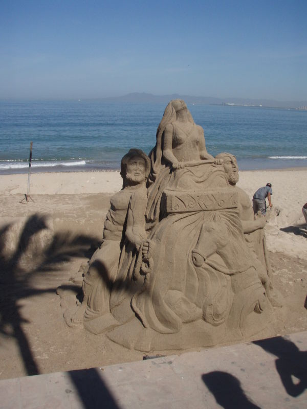 sand sculptures are my favorite