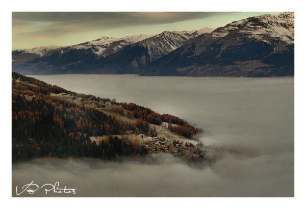 mer de nuages   Montchavin