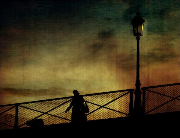 Sur le pont des Arts ...