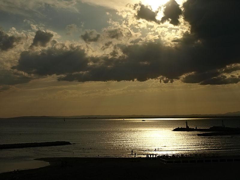 la mer ... a des reflets ...