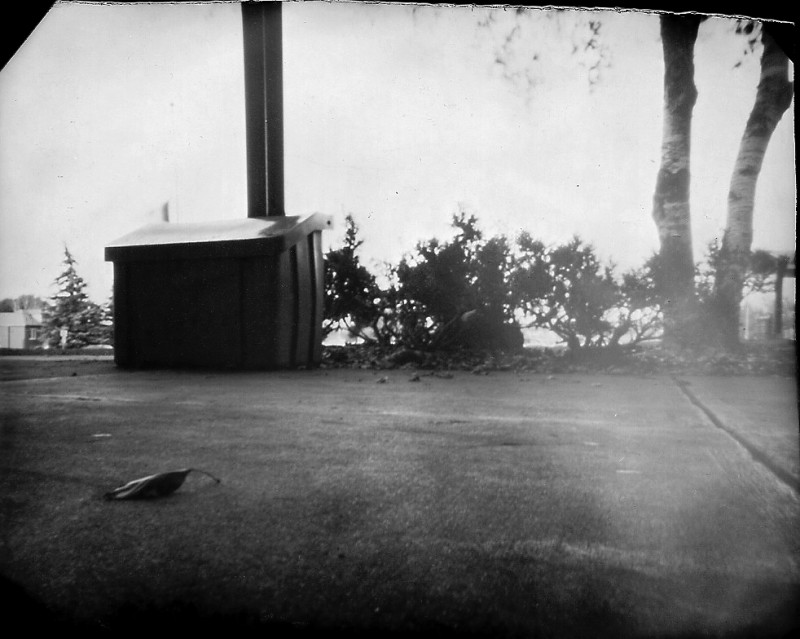 Another view through a pinhole