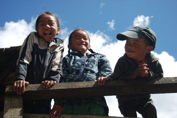 Faces of Nepal: Kids from Toktok Village