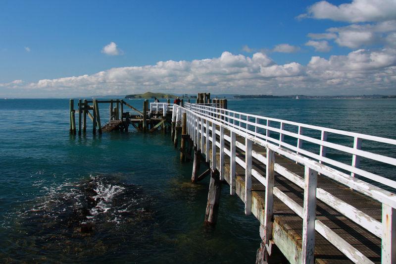 Rangitoto Wharf