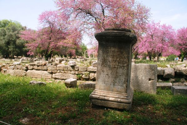 greece ancient old stone greek olympic