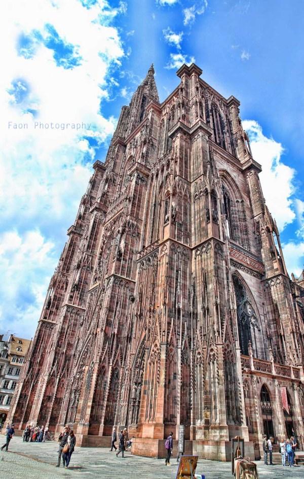 Notre Dame of Strasbourg ...
