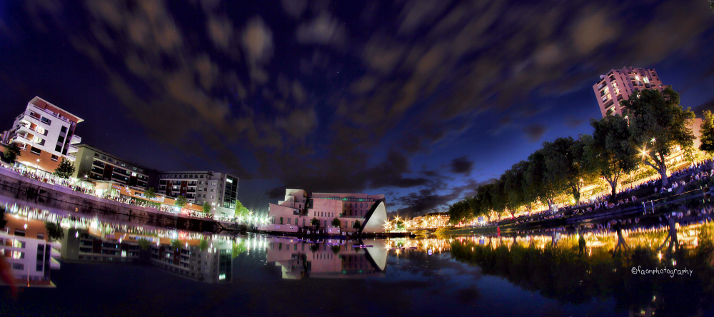 Strasbourg, by night ...
