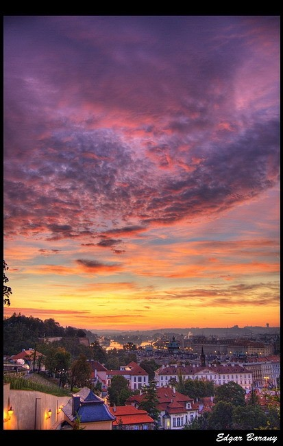 Sunrise in Prague