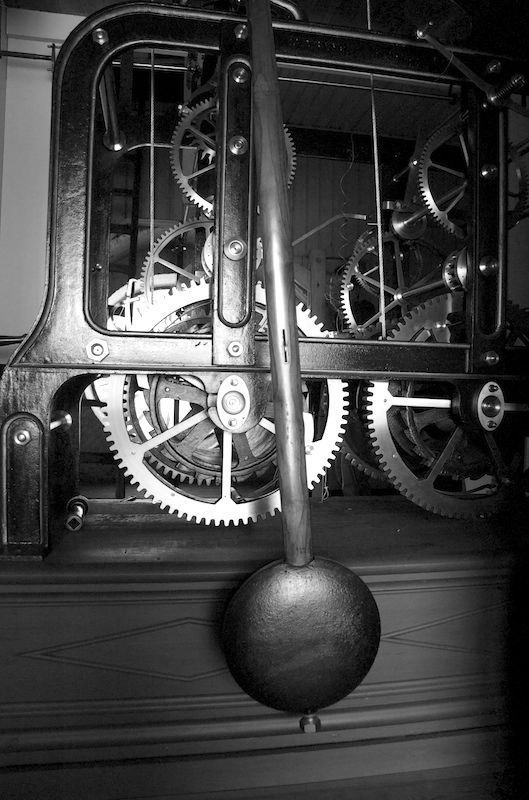 kongsberg church - clockwork 1