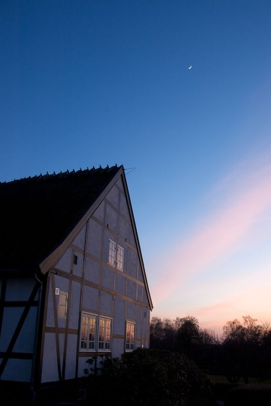 sunset in denmark II