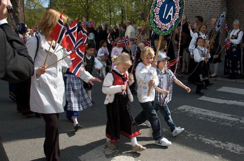 national day celebration norwegian style, lesson 1