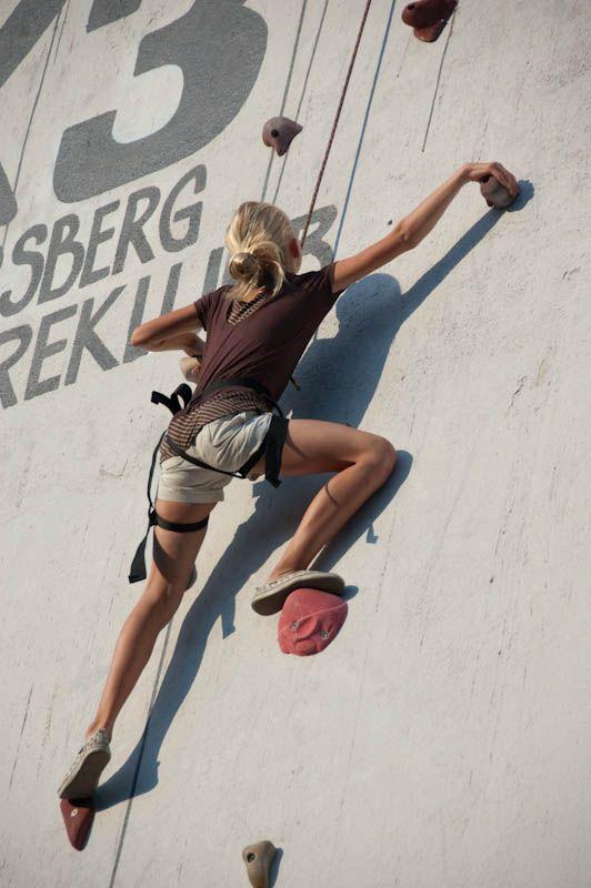 kongsberg jazzfestival 2009 - silo climbing - 2