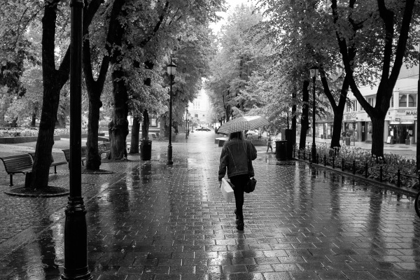 A Rainy Day in Oslo - I