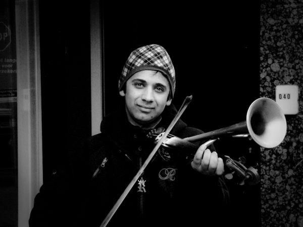 Stroh Violinist