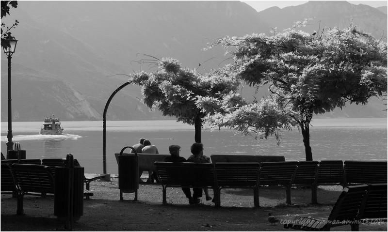 Lake Garda from Riva del Garda