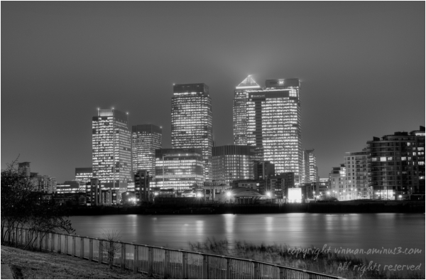 London Docklands by Night
