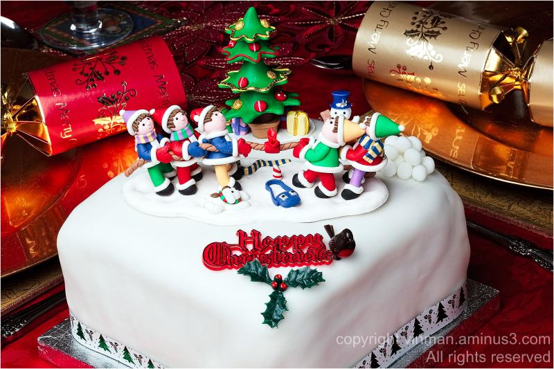 Home made Christmas cake