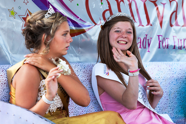 Carnival princesses from Wickford, Essex