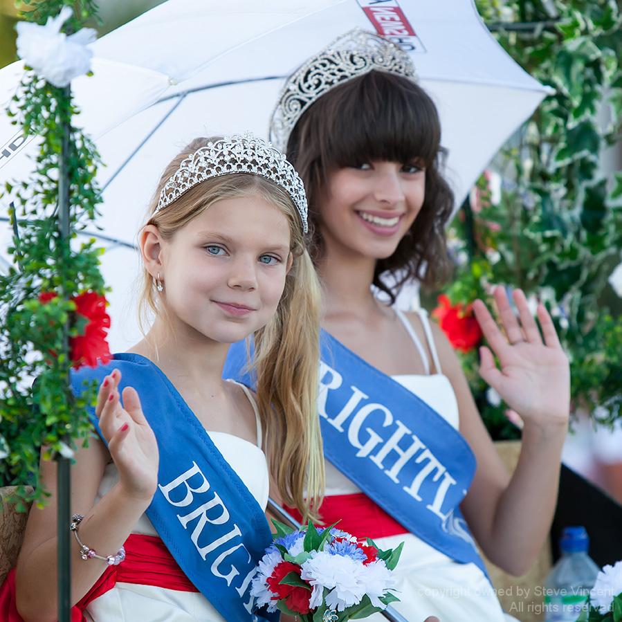 Brightlingsea Carnival Princesses