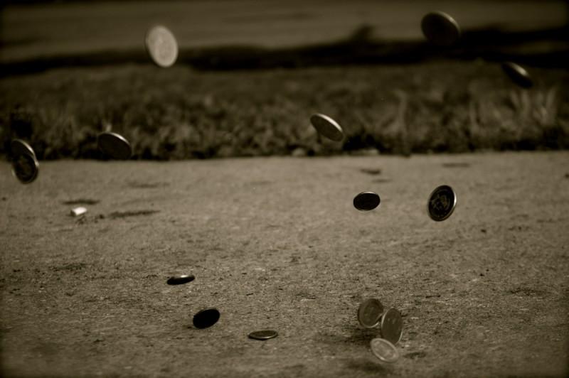Coins upon Concrete