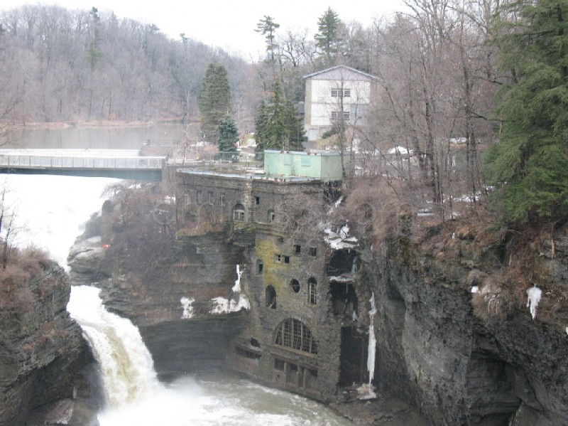 "River gorge with falls and ""dungeon"" - Architecture Photos ..."
