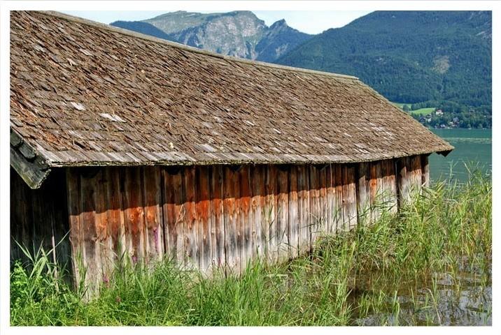 wolfgangsee cabin salzburg strobl