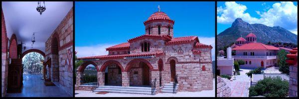 Monestary in Greece 1