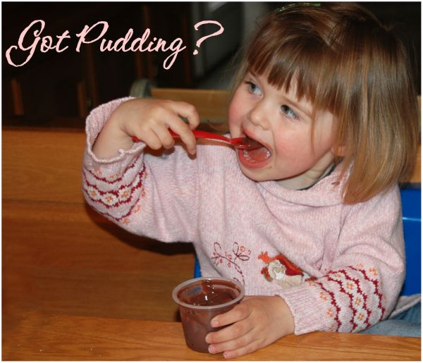 It's Pudding Time :)