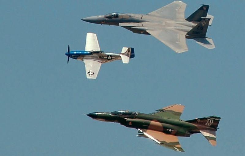 F4 & P51 & F15 Airshow 6/7
