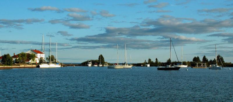 The Harbor in Grand Marais, MN