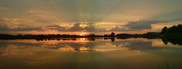 Sundown  at  Siedlce  Bay