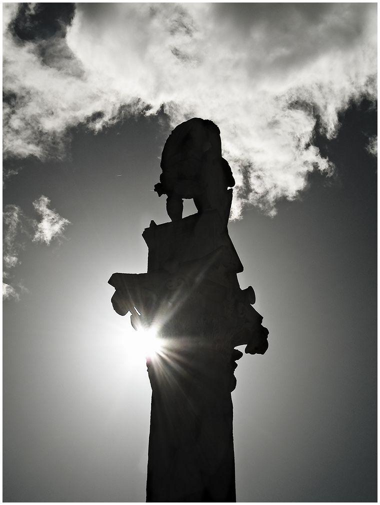 Estatua de la Alameda de Hércules