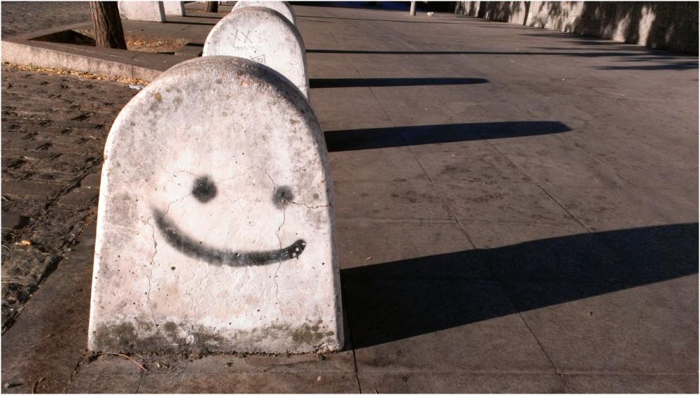 Una sonrisita