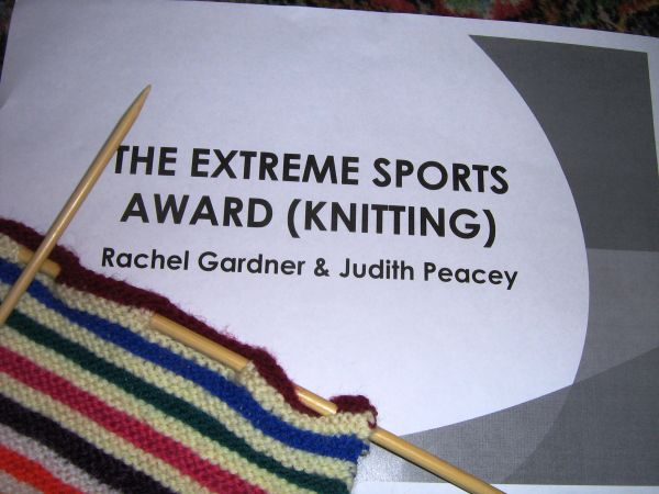 Day 30: Extreme Knitting