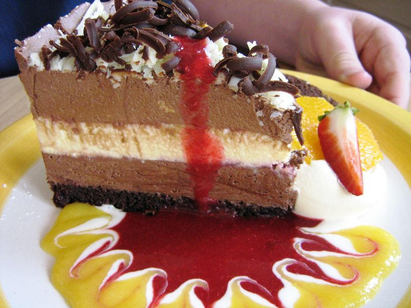 Day 38: Devil's Dream Cake