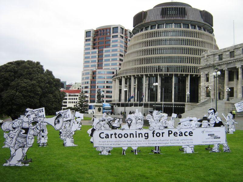 Day 67: Cartoon for Peace