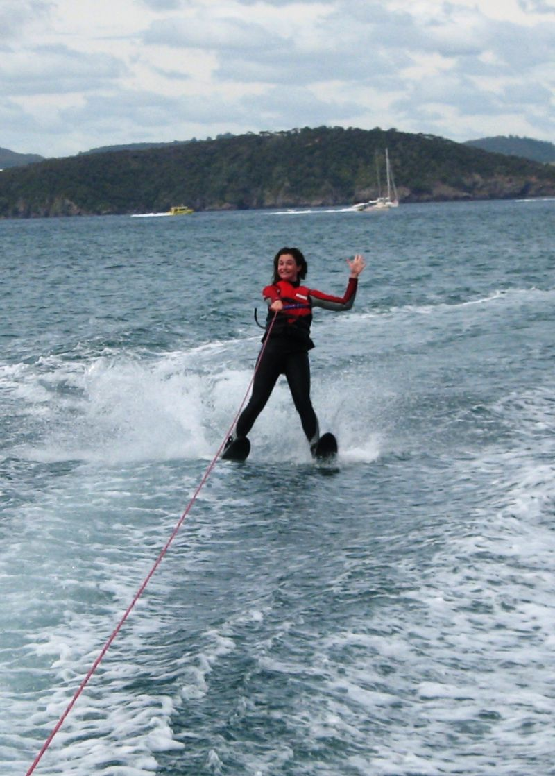 Day 121: Water skiing