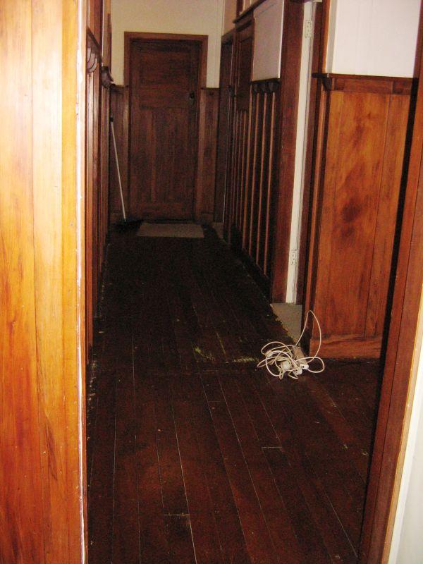 Day 125: bare hallway