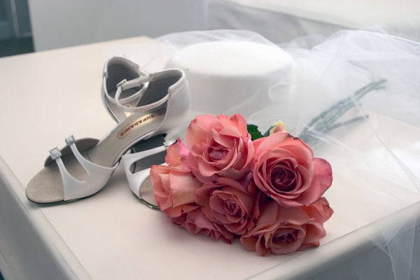 Still life shots for a wedding editorial assignmen