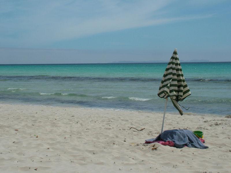 La platja, a l