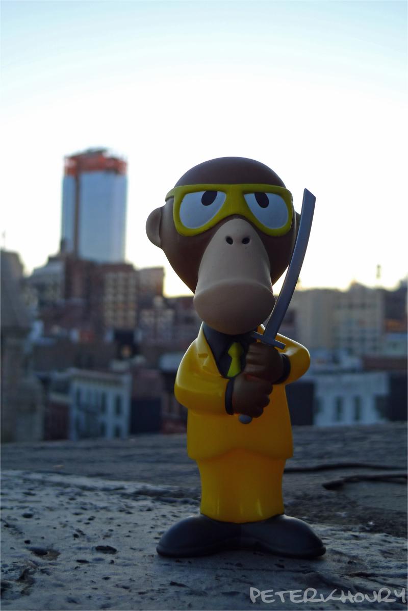 monkey assassin