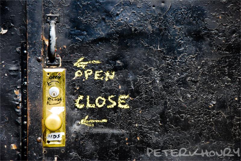 open | close