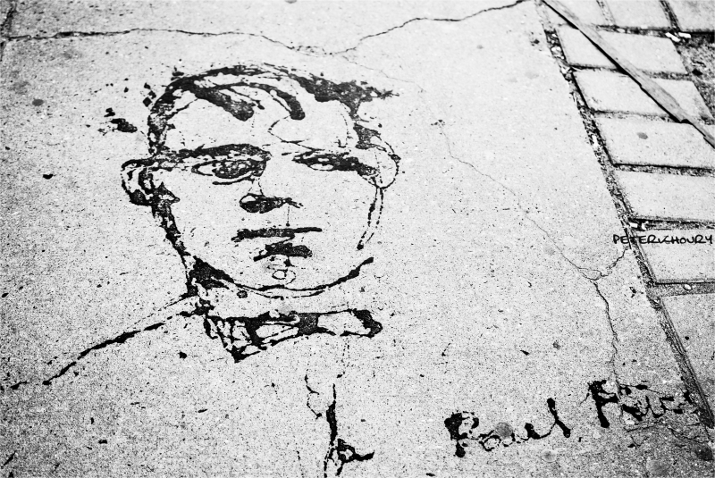 Sidewalk Picasso