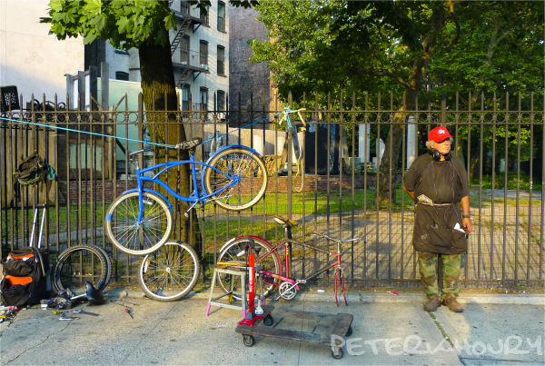 Sidewalk Bike Service