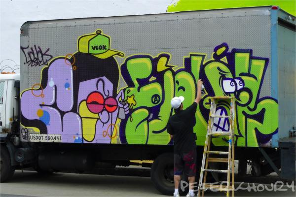 Artist at work - 5