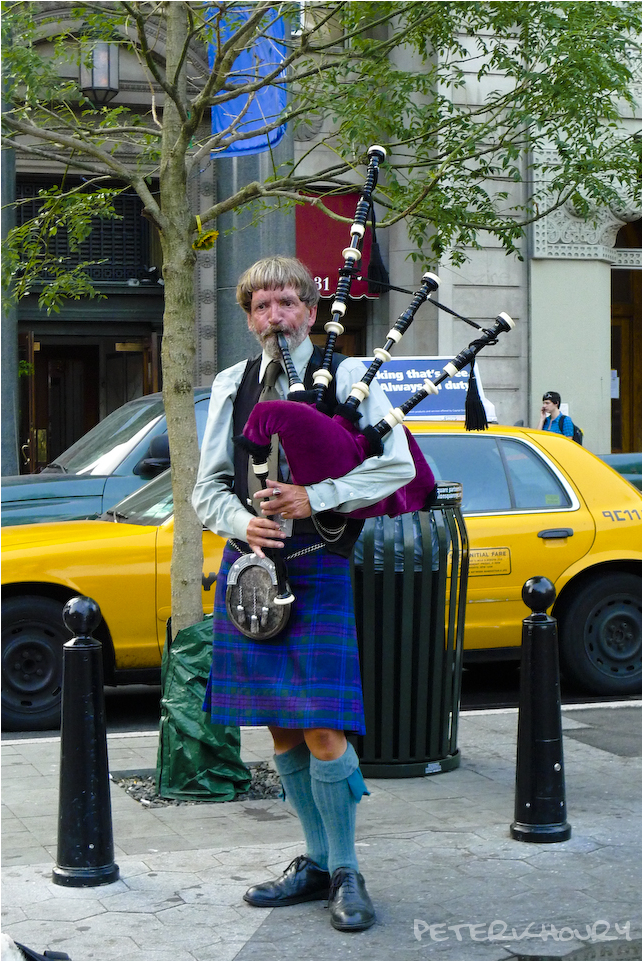 Union Square Bag Pipes