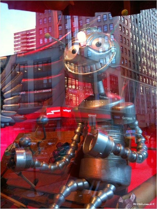 Robot Reflections
