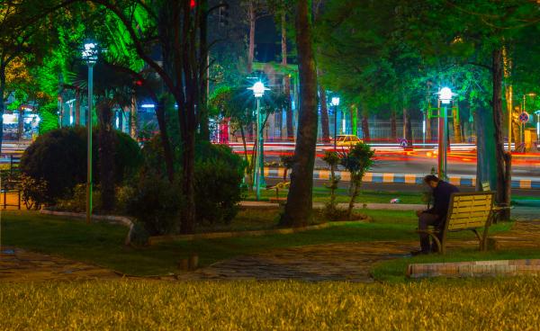 لاهیجان - پارک استخر