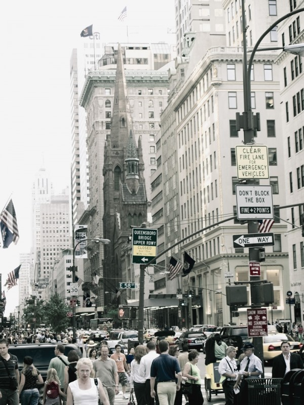 58th street and fifth avenue