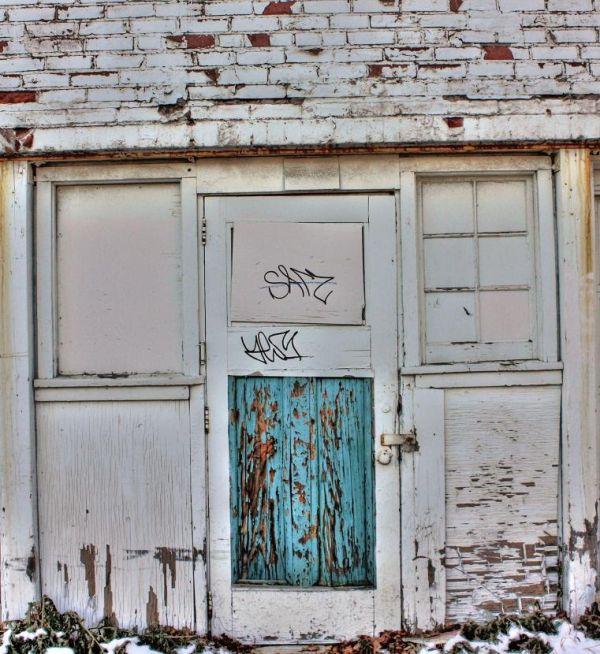 Winter Door
